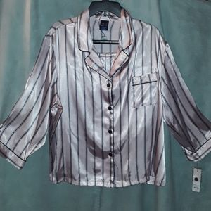 Apt 9 pink striped Pajama Set
